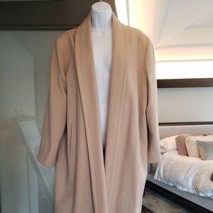 Oleg Cassini camel color coat